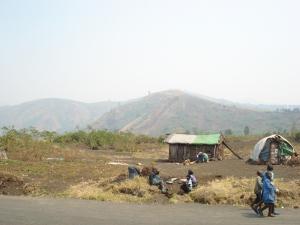 Village life in the eastern Democratic Republic of Congo